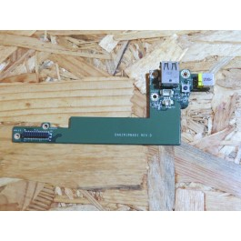 Sub Board C/ Conector de Carga & Botão Power Acer Aspire 5050