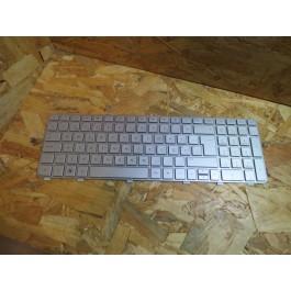Teclado HP DV6-6000 Series Silver