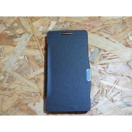 Flip Cover Preta Huawei G526