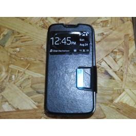 Flip Cover Preta LG L90
