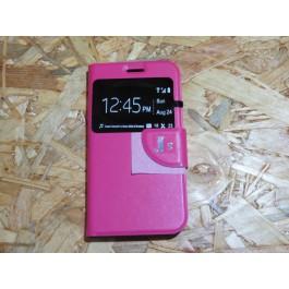 Flip Cover Rosa  Samsung J5 / J500