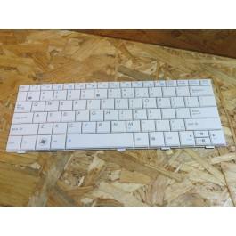 Teclado Asus EEEPC 1001 / 1005 / 1008 / R101 / R105 / T101MT Series Branco