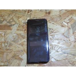 Flip Cover Preta Galaxy S8 plus