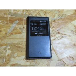 Flip Cover Preta Samsung Galaxy S5