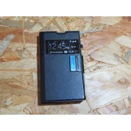 Flip Cover Preta Nokia N532