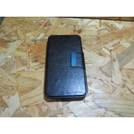 Flip Cover Preta Nokia N635
