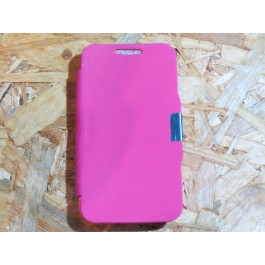 Flip Cover Rosa Vodafone Smart 4 mini