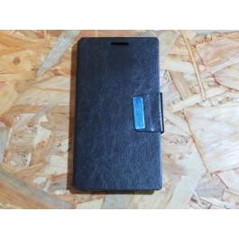 Flip Cover Preta Meo ZTE  Blade L2 / A75
