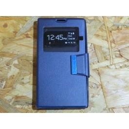 Flip Cover Azul Meo ZTE  Blade L2 / A75
