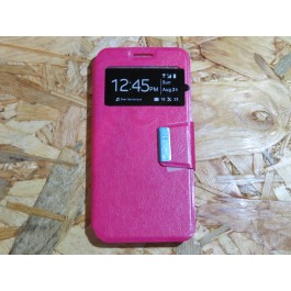 Flip Cover Rosa Vodafone Smart N9