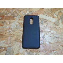 Flip Cover Preta  Xiaomi Redmi 5 Puls
