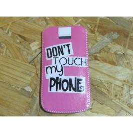 Bolsa Universal Para Telemóvel Don´t  Touch My Phone