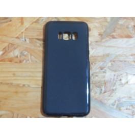 Capa Silicone Preta Samsung Galaxy S8 / G950F