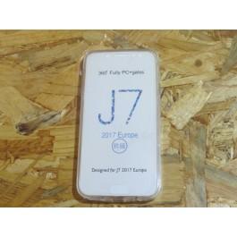 Capa Silicone Transparente 360 Samsung Galaxy J7 2017 / J730