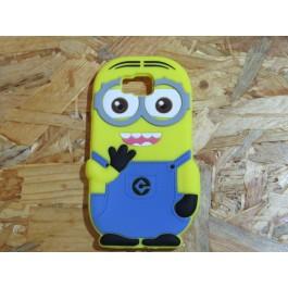Capa 3D Minion Samsung Galaxy Alpha / G850
