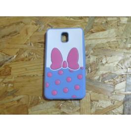 Capa 3D Laço Rosa Samsung Galaxy Note 3 / N9005