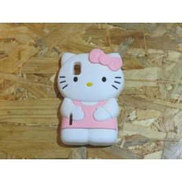 Capa 3D Hello Kitty LG  Maximo L5 / E610