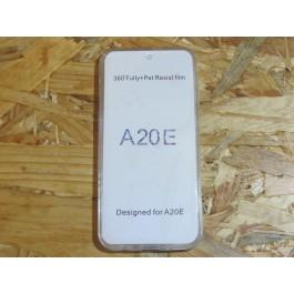 Capa Silicone Transparente 360  Samsung Galaxy A20E / SM-A202F