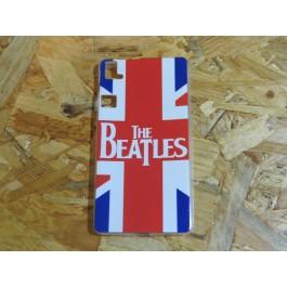 Capa Silicone The Beatles B.Q Aquaris E6 / E577217