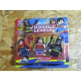 Justice League 3 Pack Figures