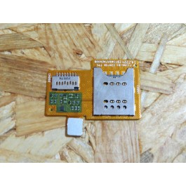 Flex de Cartão SIM e Cartão de Memória Sony ST23I Usada