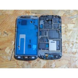 Capa Middle Frame do LCD C/ Botão Home Samsung S7562 / S7560