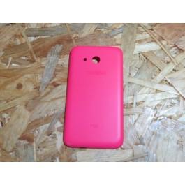"Tampa de Bateria Rosa Alcatel Pixi 4 4"" / Alcatel 4034"