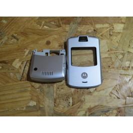 Capa Frontal & Middle Cover Motorola V3