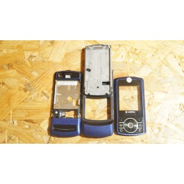 Capa Completa Azul S/ Tampa de Bateria Motorola Z3