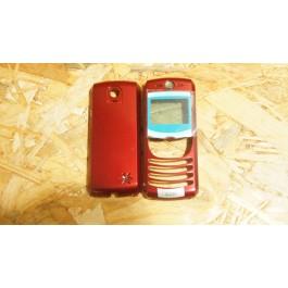Capa Completa Vermelha Motorola C550 Compativel