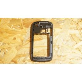 Capa Middle Cover Preta HTC S100