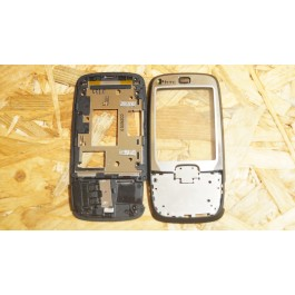 Capa Frontal C/Slide Preto HTC S711