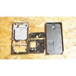 Capa Completa S/ Touch Preta HTC P3700 / Diamond
