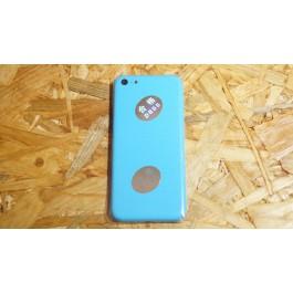Tampa de Bateria Azul Claro Iphone 5C