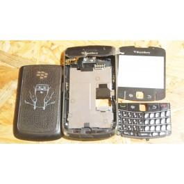 Capa Completa C/ Teclado Preta BlackBerry 9700
