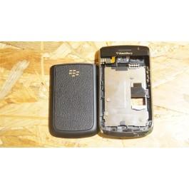 Capa Completa S/ Teclado Preta BlackBerry 9700