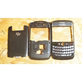 Capa Completa Preta Blackberry Curve 8900 Compativel