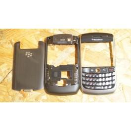 Capa Completa C/ Teclado Preta Blackberry 8900