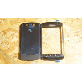 Capa Completa C/ Teclado Preta Blackberry 9500