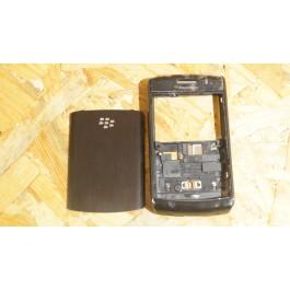 Capa Completa S/ Teclado Preta Blackberry 9520