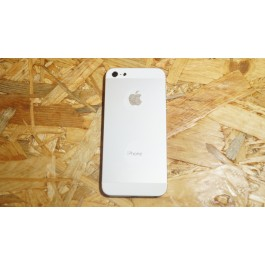 Capa Completa C/ Flexs Cinza Metal / Branco Iphone 5