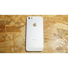 Capa Completa S/ Flexs Cinza Metal / Branco Iphone 5S
