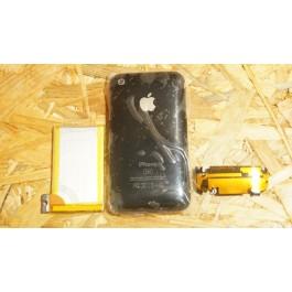 Capa Completa C/ Bateria & Flex Preta Iphone 3G 8Gb