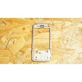 Capa Frame do LCD Castanho Nokia N81