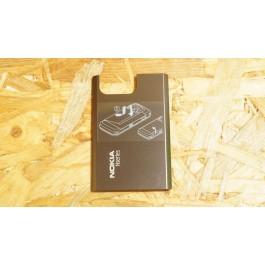 Tampa Bateria Castanho Metal Nokia N97 mini