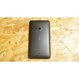Capa Tampa de Bateria Preta Nokia Lumia 625