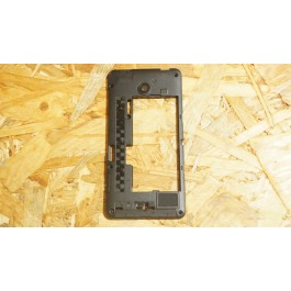 Capa Middle Cover Preta Nokia Lumia 630
