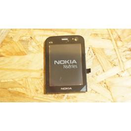 Lente Preta Nokia N78