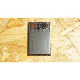 Capa Tampa de Bateria Preta Sony Ericsson W380