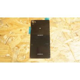 Capa Tampa de Bateria Preta Sony Xperia Z2 / D6503 / D6502 / SO-03F